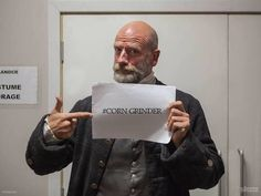 That's right Dougal. #corngrider #outlander