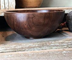 Wood Yarn Bowl Yarn Bowl handcrafted wooden bowl by AdzeWoodcraft