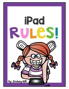 iPad Rules Display this set of bright and bold posters to establish rules for using iPads in the classroom. First Grade Classroom, Classroom Rules, Classroom Posters, Classroom Ideas, Instructional Technology, Educational Technology, Ipad Rules, Classroom Organization Labels, Elementary Computer Lab