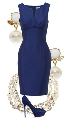 """night at the opera"" by dragonlily-1 ❤ liked on Polyvore featuring Kate Spade, Hobbs, Sergio Rossi and dressy"