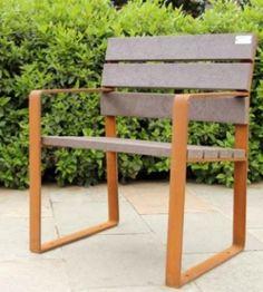 Nuu, el banco sostenible del mobiliario urbano