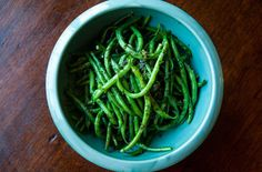 French Green Beans with Butter and Herbs — Punchfork