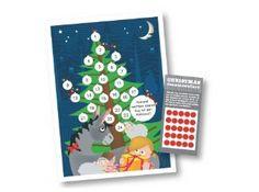 aftelkaart kerstmis - Hoeveel nachtjes slapen tot Kerstmis?