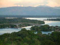Rio Dulce - Guatemala! Super beautiful boat ride up the river!