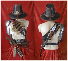 Freakin Awesome Leatherwork by ~I-TAVARON-I on deviantART