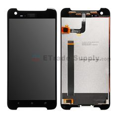 For HTC One X9 LCD Screen and Digitizer Assembly Replacement - Black - With Logo - Grade S+  #HTC One X9 #HTC parts #cell phone parts #etradesupply https://www.etradesupply.com/