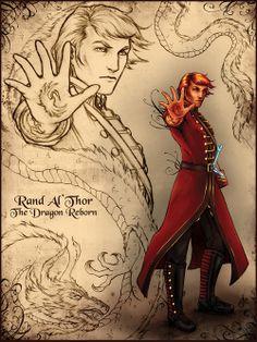 Wheel of Time Rand Al'Thor from http://srj-art.tumblr.com