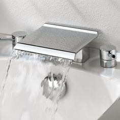 I recently discovered the thrill and satisfaction of waterfall taps, I have wanted one ever since!