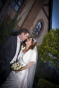 bride and groom in front of the nenagh court hotel, nenagh, co. tipperary