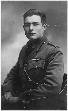 Author of 'Farewell to Arms'  Winner of the Nobel Prize in Lit in 1954.  Any guesses?   It's Ernest Hemingway!