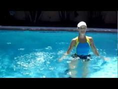 Three aquatic exercises to improve cardio endurance, burn calories gain muscle strength. *Exercises shown are for those with no medical restrictions. (If you have medical issues, consult with your doctor before trying any new exercise) Water Aerobic Exercises, Swimming Pool Exercises, Pool Workout, Water Workouts, Fitness Exercises, Workout Fitness, Water Aerobics Routine, Swim Technique, Wellness Fitness