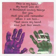 Children's Hand Poem