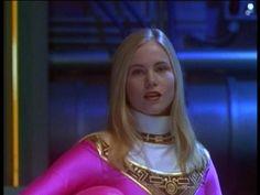 Katherine Hillard is also the Pink Zeo Ranger in Power Rangers: Zeo.