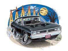Krass and Bernie Cartoons   back of driving garage cartoons cartoon about toyotas innovations ...