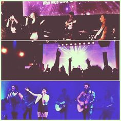 Church services in London and Berlin. Worship leaders on fire. #church #worship