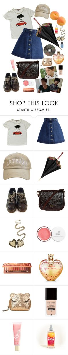 """""""after all said and done"""" by elliewriter ❤ liked on Polyvore featuring Emile et Ida, Chicwish, Aspinal of London, Dr. Martens, Hot Topic, Urban Decay, Vera Wang, Furla, Lano and Hollister Co."""