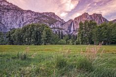 Yosemite Falls Sunset by Bill Boehm on 500px