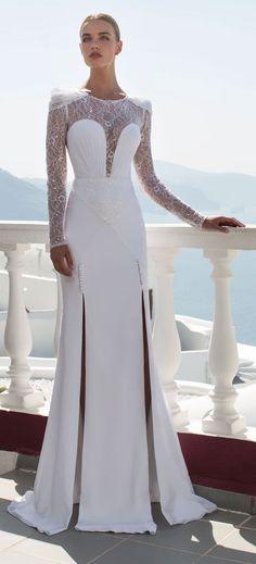 Vestido de casamento por Julie Vino - Coleção Santorini 2016