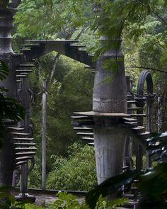Tree Stairs, Las Pozas, Mexico.