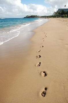 ... The times you saw only one pair of foootprints in the sand and you thought you were alone, are all the times Jesus was carrying you...