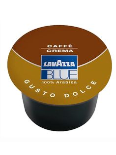 #LavazzaBLUE #CafeCremaDolce Mini-Pack (50) Free shipping available for orders over $50! Check our shipping policies for details. This item is also kosher certified!  A 100% Arabica sweet blend with a thick, golden crema comprised of top Brazilian and Indian coffee beans.