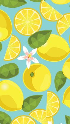 Lemon pattern ★ Find more fruity #iPhone + #Android #Wallpapers and #Backgrounds at @prettywallpaper