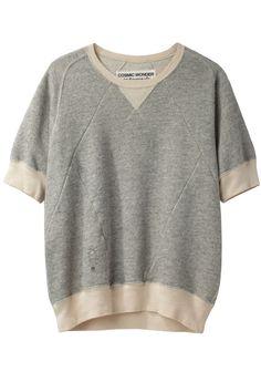 geometric sweatshirt ++ cosmic wonder