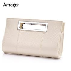 Alligator leather clutches evening bag