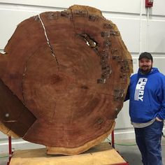 Big cookie #wood #woodshow #woodworkingshow by nickferrybuilds