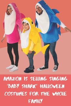 "The world of fashion is constantly evolving. Prepare yourselves for singing ""Baby Shark"" costumes!"