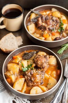 Every time I make this super easy and cozy pressure cooker oxtail stew ...