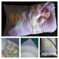 How To Make A Snuggle Baby Nap Mat #Sewing #Baby #Mat