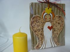 Výsledek obrázku pro keramický anděl