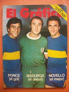 el grafico 2731 8/2/1972 ponce madurga novello boca - envios