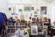 Holly Wales and Stephen Smith – Artists and Illustrators at Home in London « the selby
