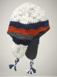 knit trapper hat