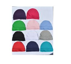 Baby Beanie Hats/ Hospital Hats/ Embroidery Blanks Size Preemie - 6T multiple colors available by NoahInspirations on Etsy https://www.etsy.com/listing/227742159/baby-beanie-hats-hospital-hats