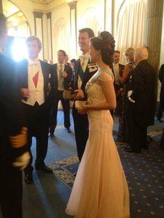 Prince Joachim and princess Marie of Denmark