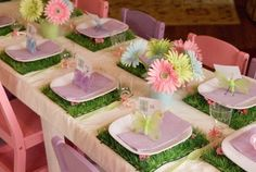 {Cupcake Monday} Party Planning: Flowers...Fairies...Butterflies...Oh My! - The TomKat Studio