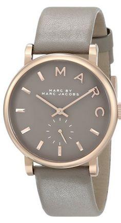Dark grey wrist watch