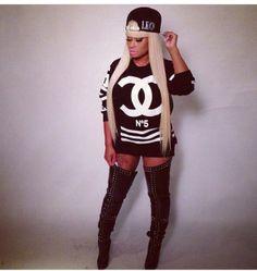 Nicki Minaj et sa casquette Last Kings