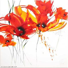 Fireflowers I - Isabelle Zacher-Finet