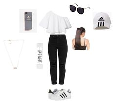 """Cute school clothes"" by emiliaesperanza on Polyvore featuring adidas, Victoria's Secret and Kendra Scott"