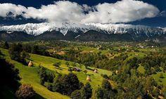 Romania Carpathian mountains Brasov Bran most beautiful scenery eastern europe Brasov Romania, Visit Romania, Carpathian Mountains, Bucharest, Eastern Europe, Dracula, Lonely Planet, Landscape Photos, Beautiful Landscapes