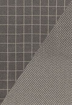 I LOVE menswear look for home decor!!! Colorado in Charcoal / Nickel from @Kylee Foote Foote Eygenraam-Schumacher — Fabric Wallcovering...