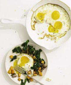 Sausage, Kale, and Sweet Potato Hash | Get the recipe for Sausage, Kale, and Sweet Potato Hash.