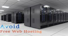 Do you still prefer free web hosting services for your blog? We are sure you will change the decision after reading these reasons to avoid free web hosting. #webhostingservices