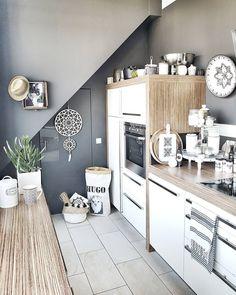Une cuisine 100% fait de bois