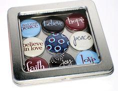 Get festive! Handmade pendants, pins, and magnets. Celebrate the season!    http://www.bellechic.com/deals/jesse-janes-jewelry--2