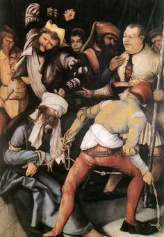 The Mocking of Christ, 1503, Matthias Grünewald -